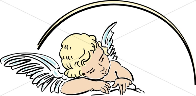 Halo clipart baby. Angel graphics images sharefaith