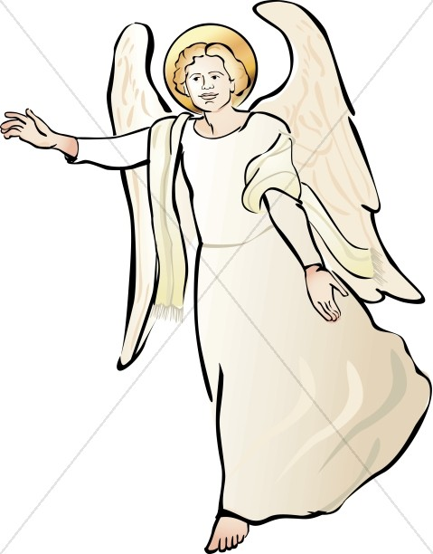 Angels clipart host. Of angel