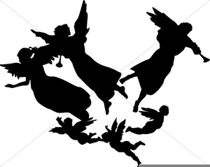 Angels clipart host. Of free images at