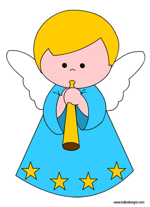 Angels clipart printable.  best images on