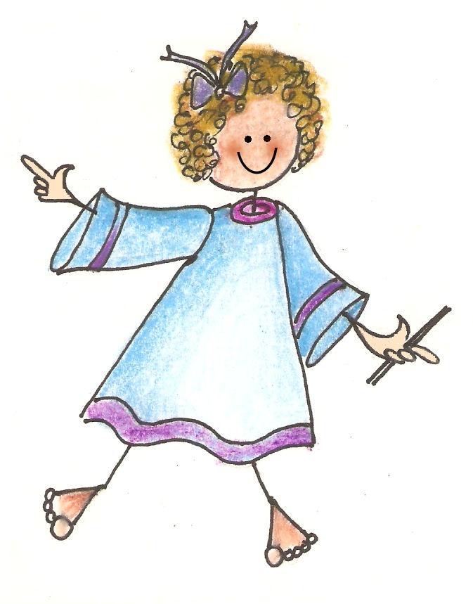 best people images. Angels clipart stick figure