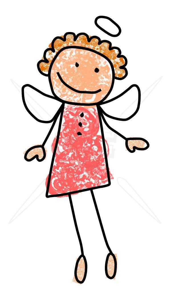 Pin by kathe patterson. Angels clipart stick figure