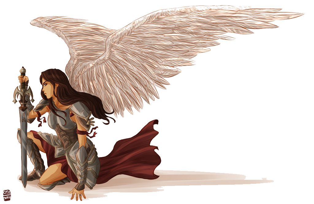 Download angel free png. Angels clipart warrior