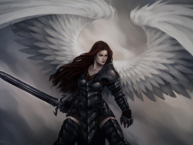 Fallen angel free on. Angels clipart warrior