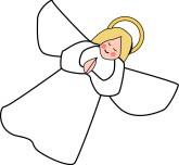 Christmas clipart angel. Panda free images angle