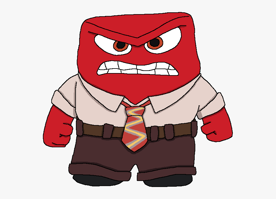 From inside out . Anger clipart