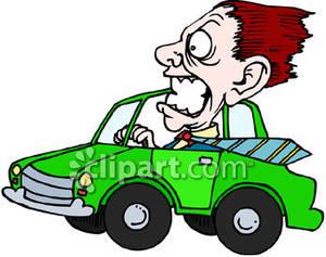 Clip art royalty free. Driver clipart aggressive driving