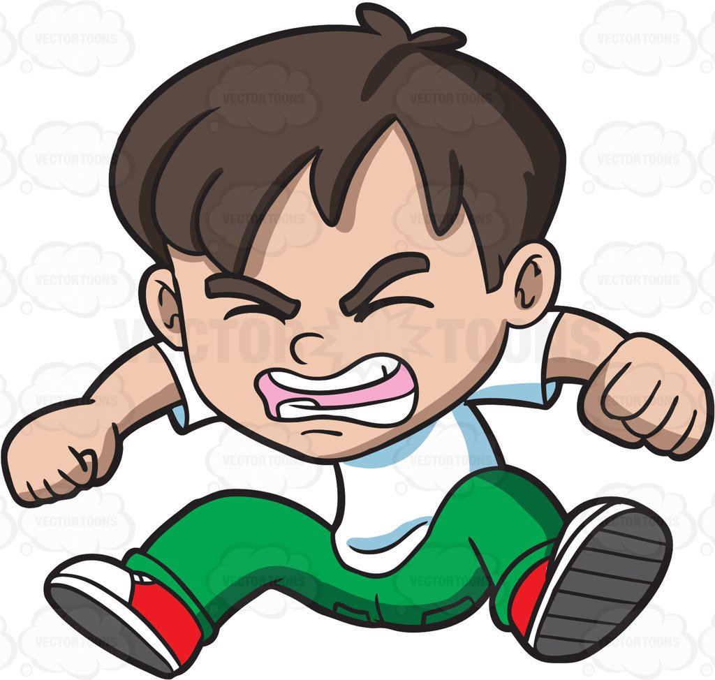 Angry cartoon image free. Mad clipart aggressive person