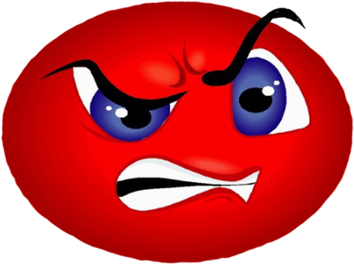 Anger clipart angry. Graphic black and white