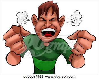 Anger clipart angry boy. Kid pencil and in