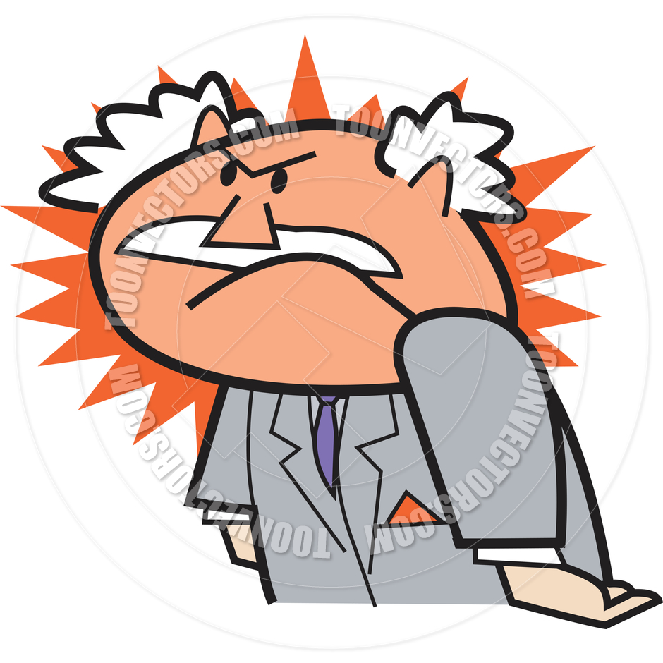 Anger clipart angry businessman. Pictures of people free