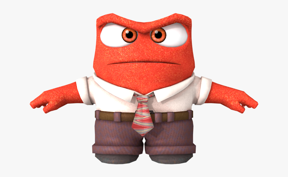 Anger clipart angry customer. Inside out png