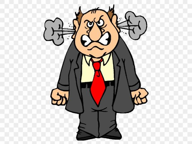 Anger clipart angry customer. Free download clip art