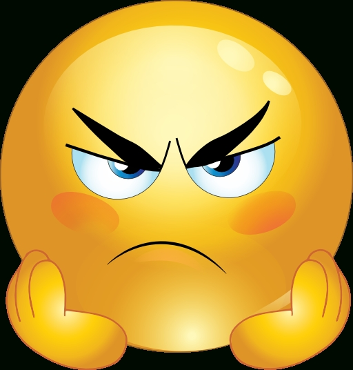 Anger clipart angry face. Emoji pencil and in