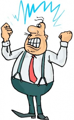 anger clipart angry patient