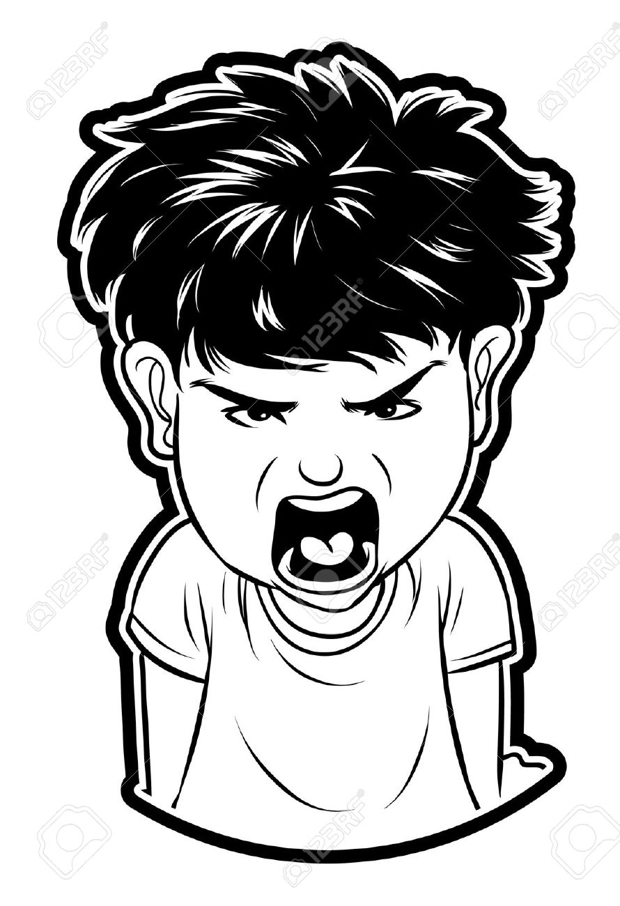 Anger clipart angry student.  collection of boy