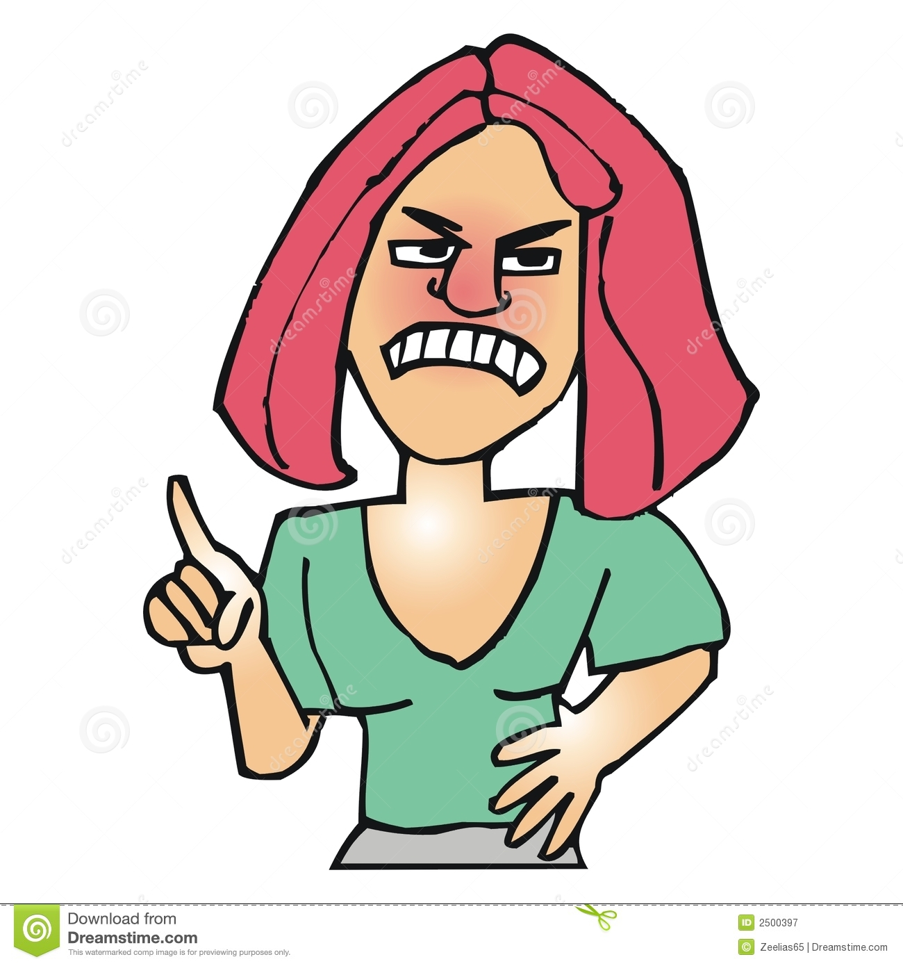 Anger clipart angry student. Person woman pencil and