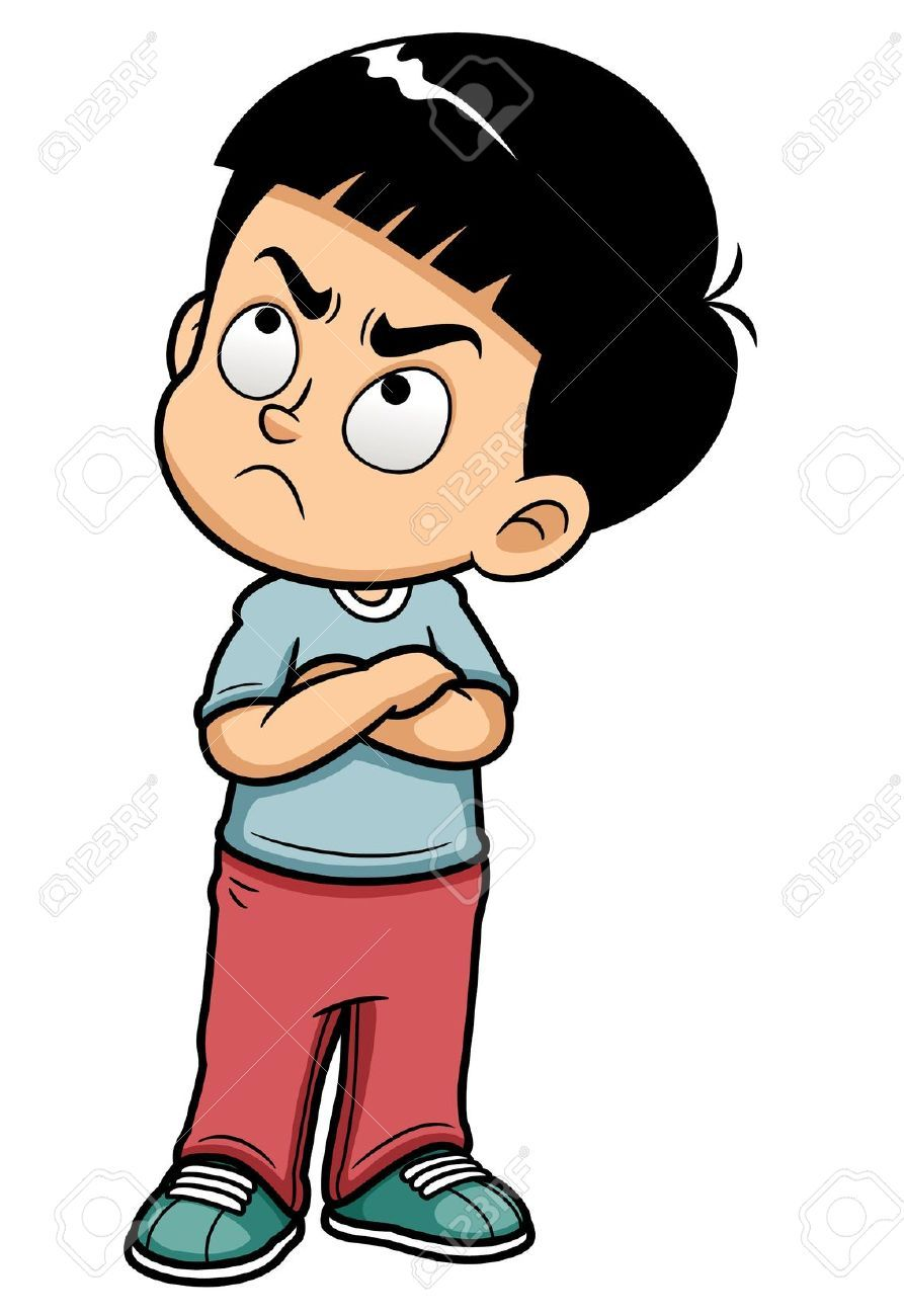 Brother clipart adolescent.  illustration of angry