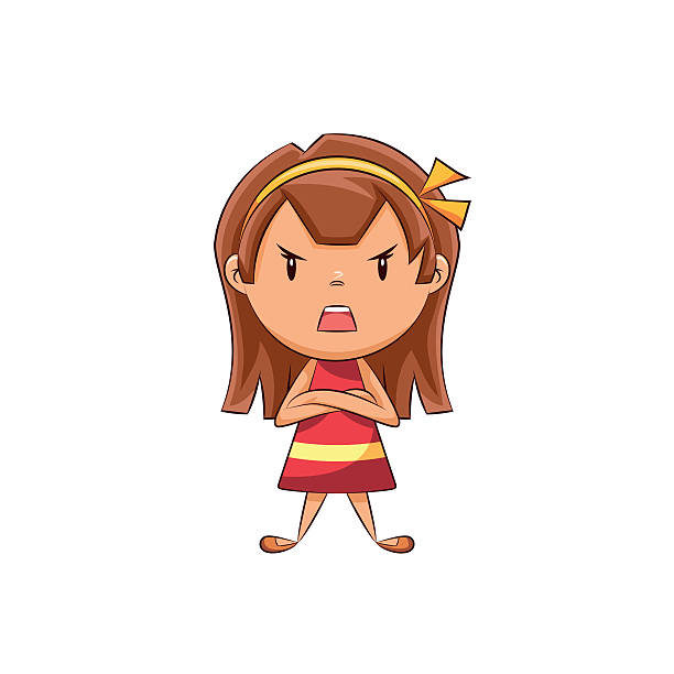 Angry clipart angry girl. Anger group bad friend