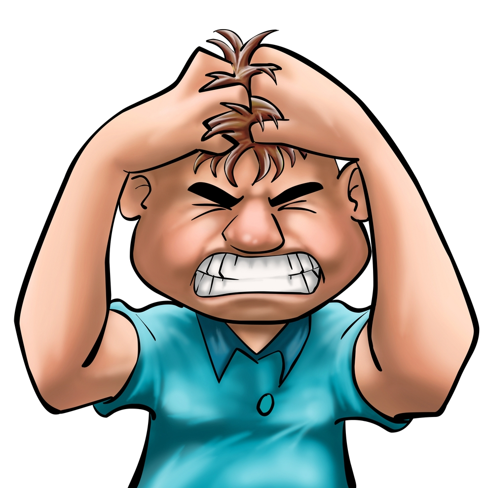 Animated frustrated kid free. Anger clipart cartoon