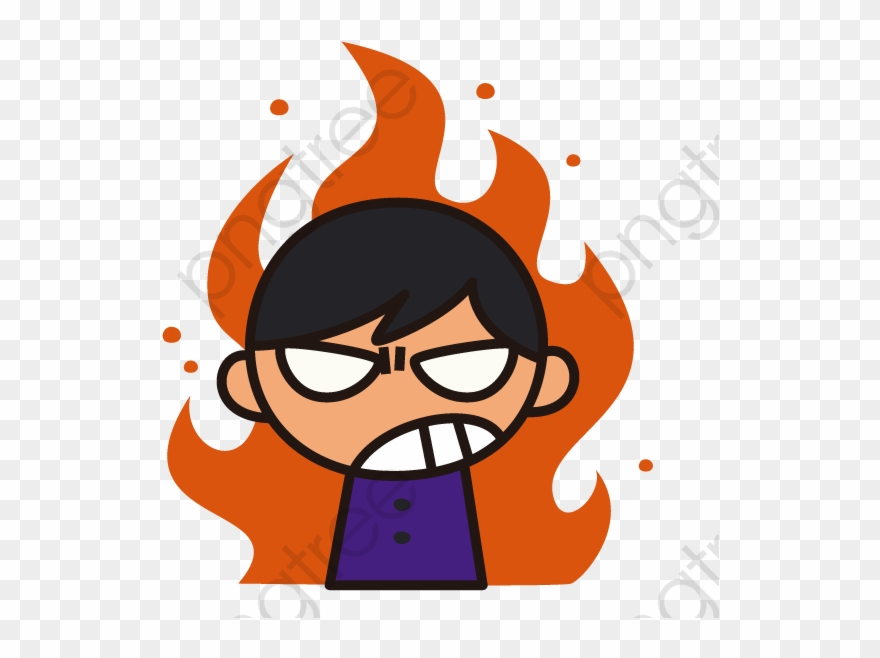 Angry boy png . Anger clipart cartoon