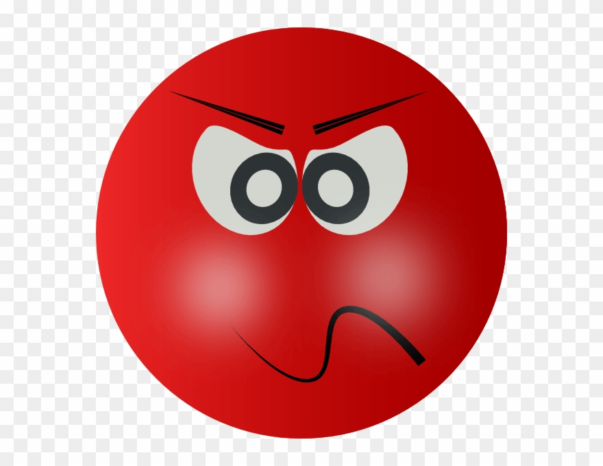 Anger clipart clip art. Angry mean smiley face