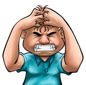 Angry stock illustrations royalty. Anger clipart control anger