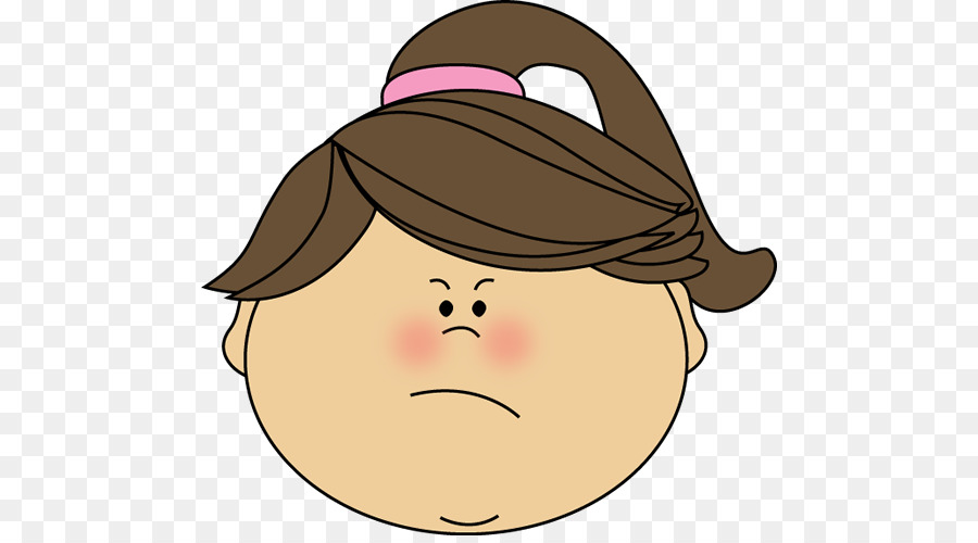 Anger clipart control anger. Smiley happiness girl clip