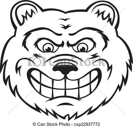 Anger clipart drawing. Angry face line at