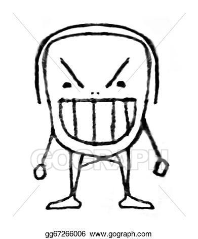 Angry child cartoon gg. Anger clipart drawing