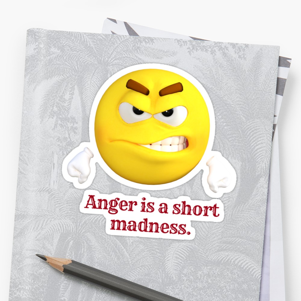 Anger clipart furious. Emoji rage rabies fury
