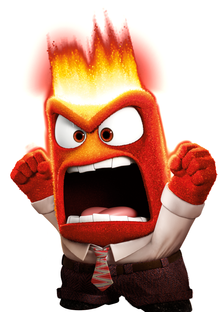 Anger disney wiki cartoon. Tall clipart angry