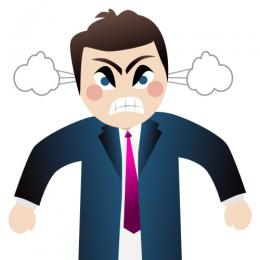 angry clipart anger