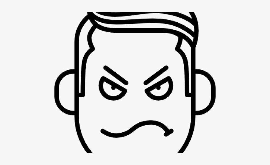 Drawn angry nausea png. Anger clipart mad dad