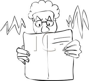 Anger clipart mad dad. A black and white