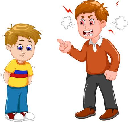 Angry . Anger clipart mad dad