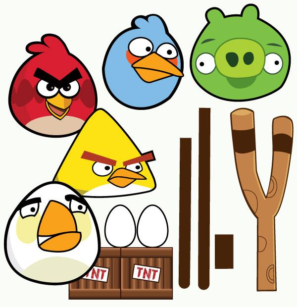 Anger clipart printable. Angry birds collection wants