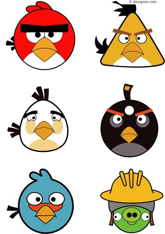 Anger clipart sinist.  best angry birds