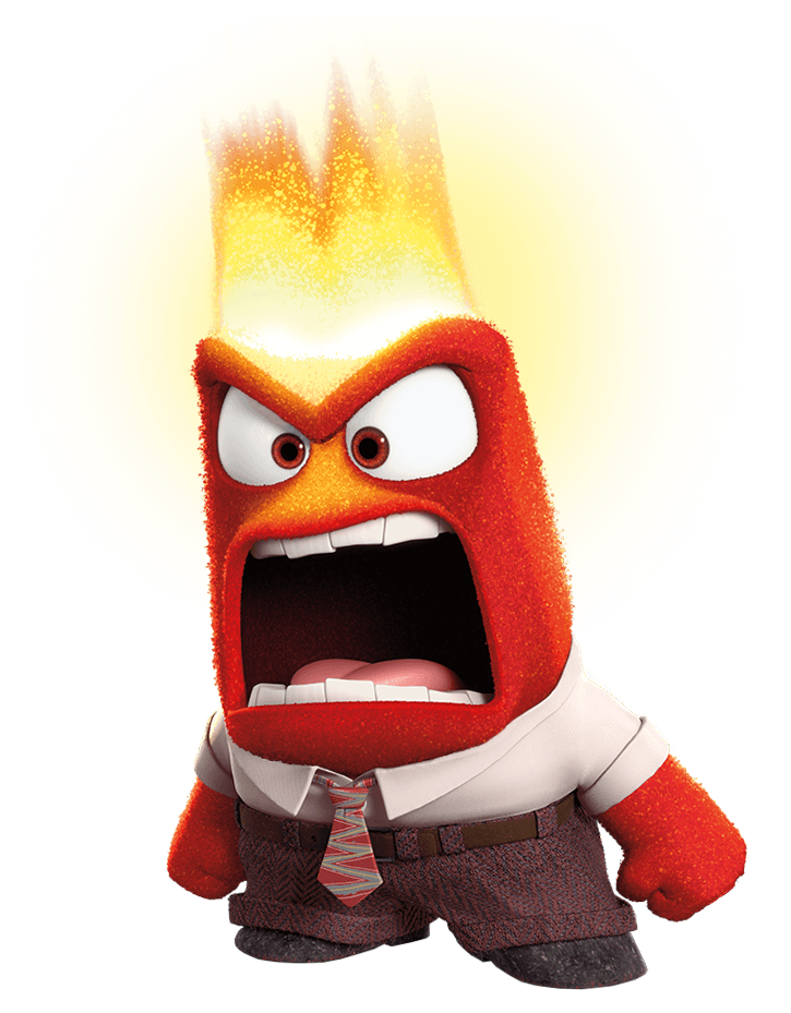 Anger inside out png. Angry clipart transparent