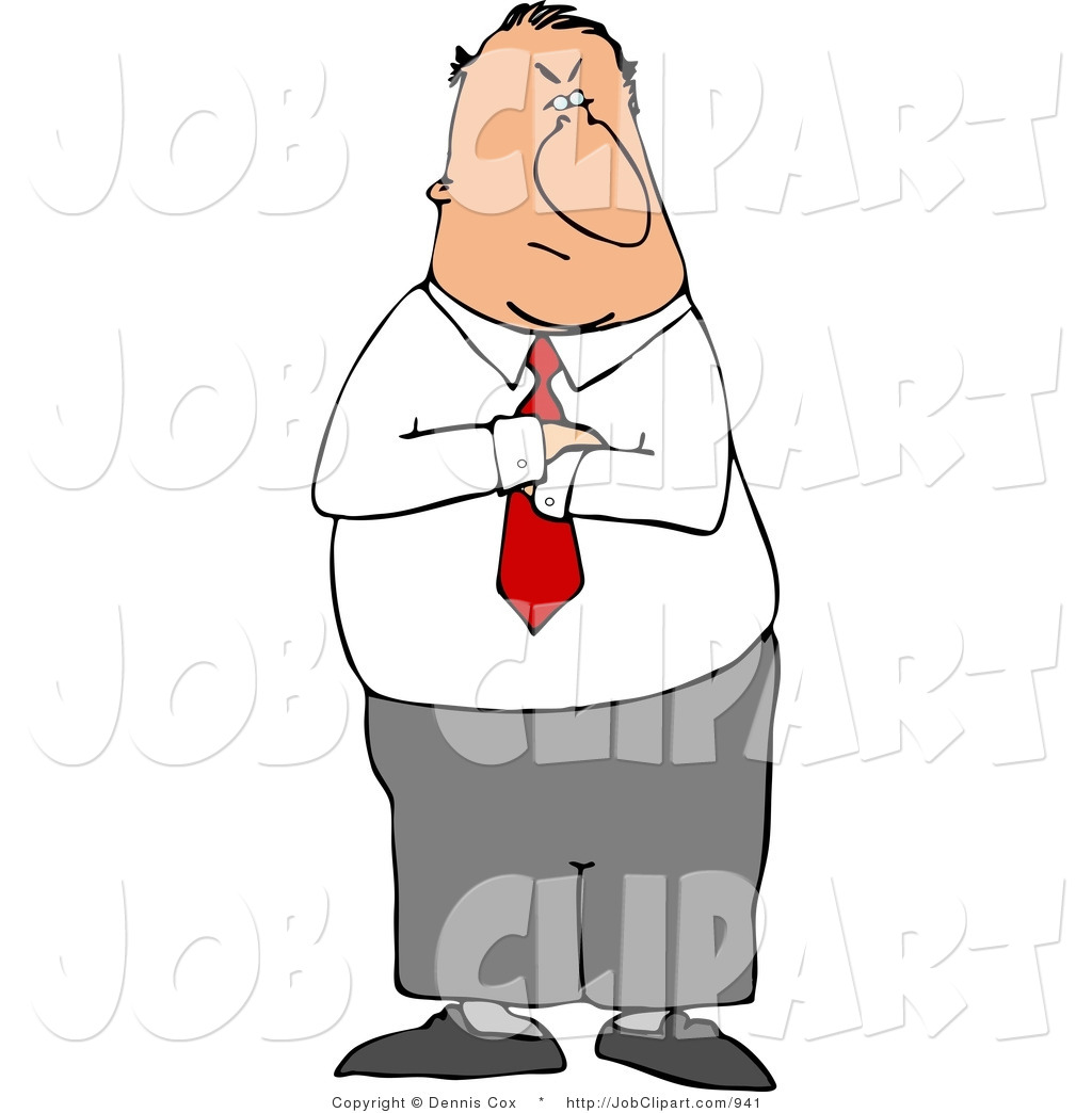 Job clip art of. Mad clipart manager