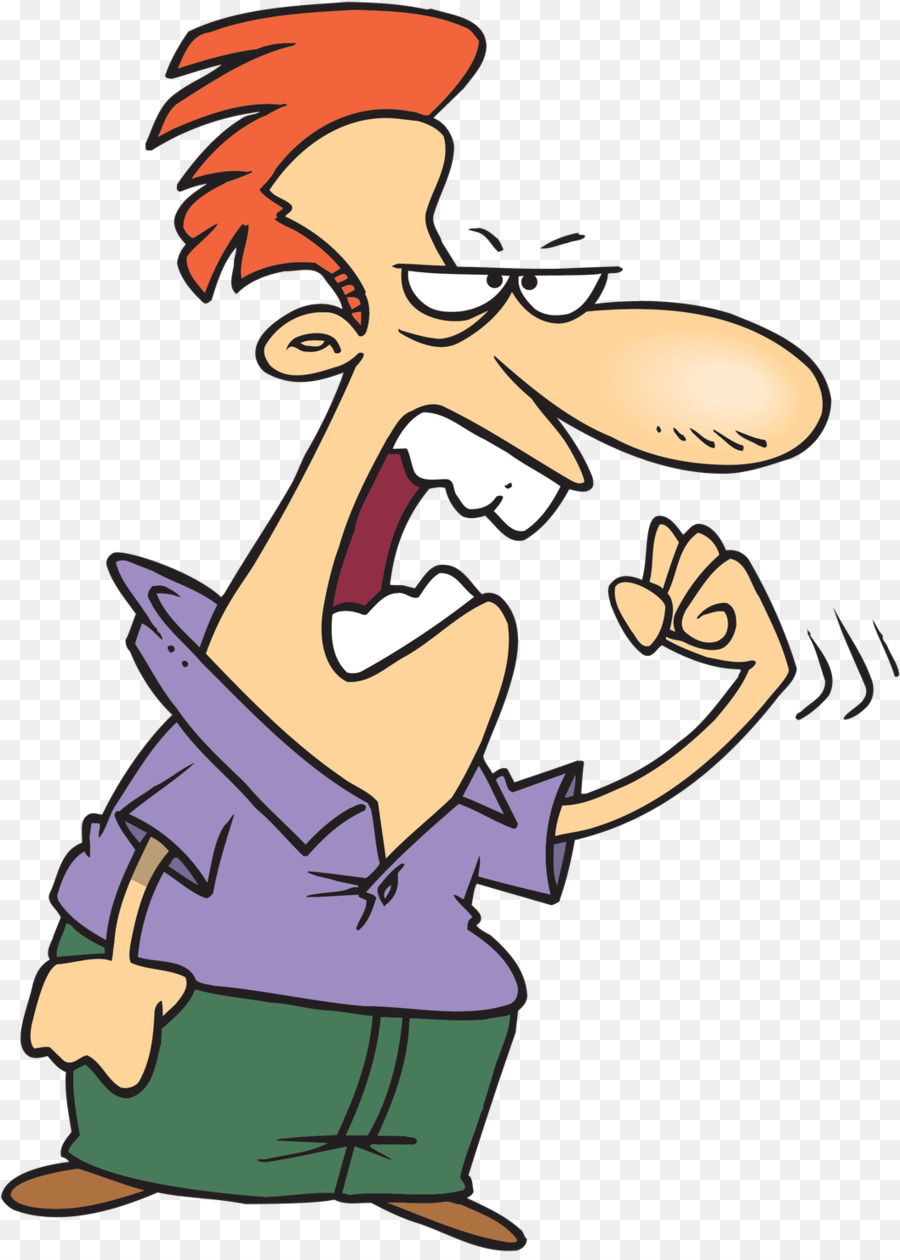 Healthy screaming clip art. Angry clipart anger