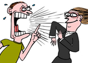Your tough customers secrets. Angry clipart angry customer