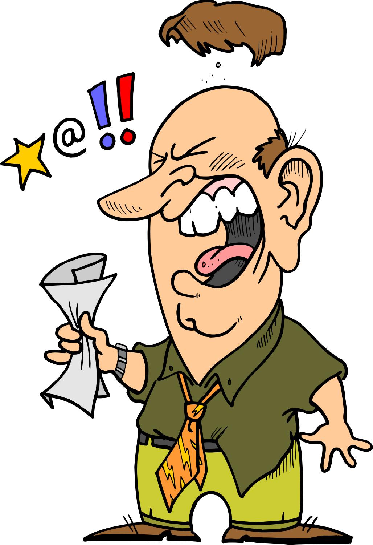 Angry clipart angry customer. Unhappy cartoon customers walk