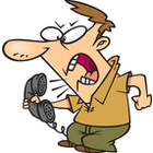 Frustrated . Angry clipart angry customer