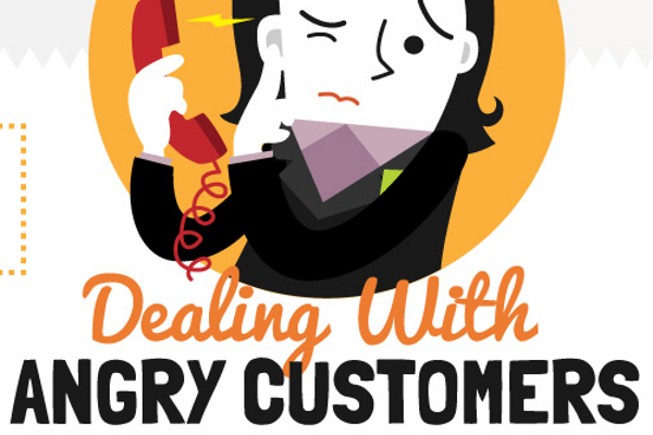 Angry clipart angry customer.  tips for dealing