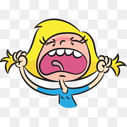The angrily expression pissed. Angry clipart angry girl