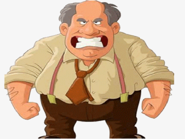 Angry clipart angry man. Foreign old png