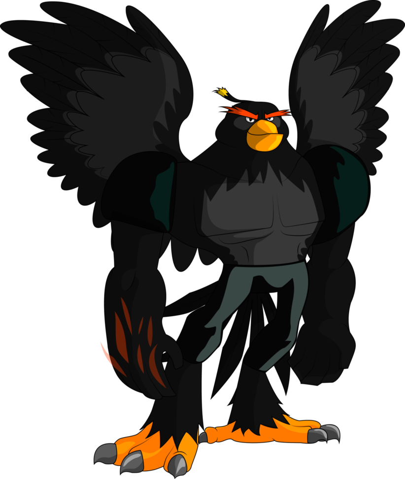 Angry clipart bomb. Birds antropomorphic by countwildrake