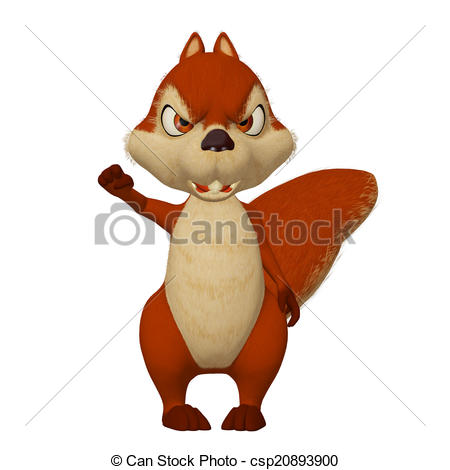 Angry clipart clip art. Squirrel pencil and in