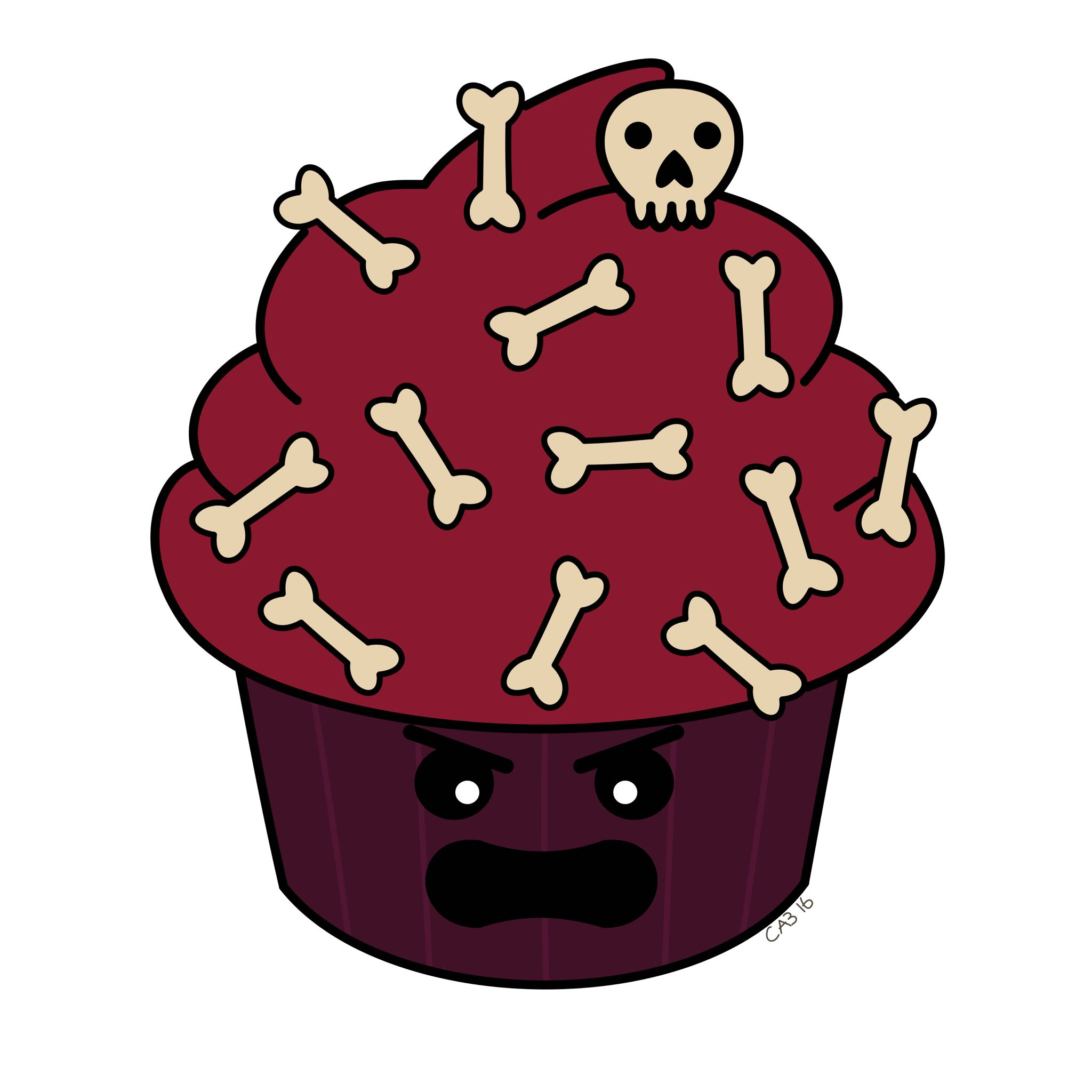 February nd passive aggressive. Angry clipart cupcake